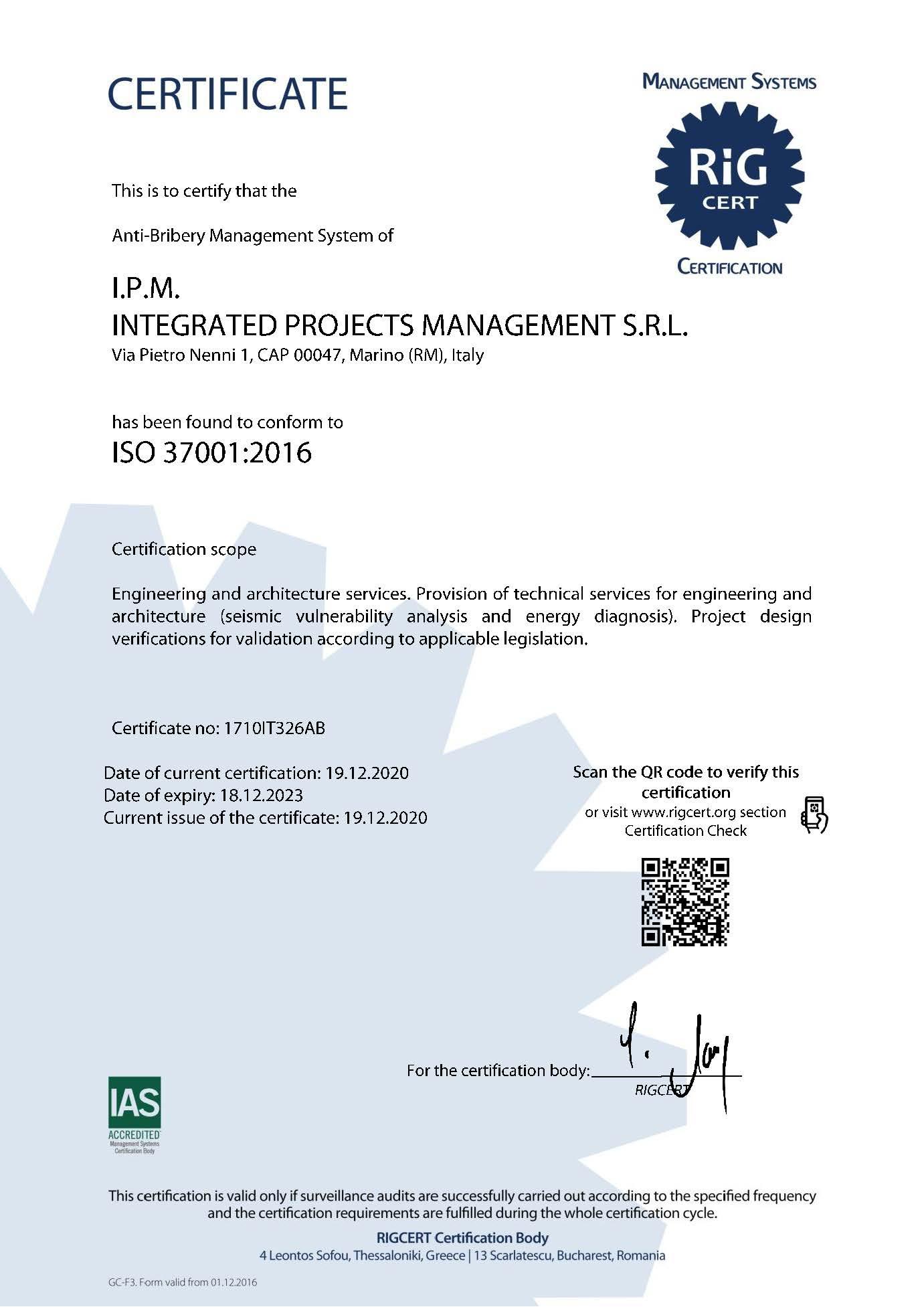 Certificato_IPM_37001_En