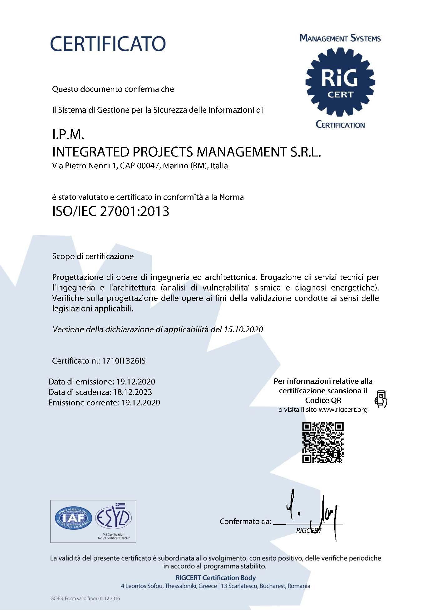 Certificato_IPM_27001_It