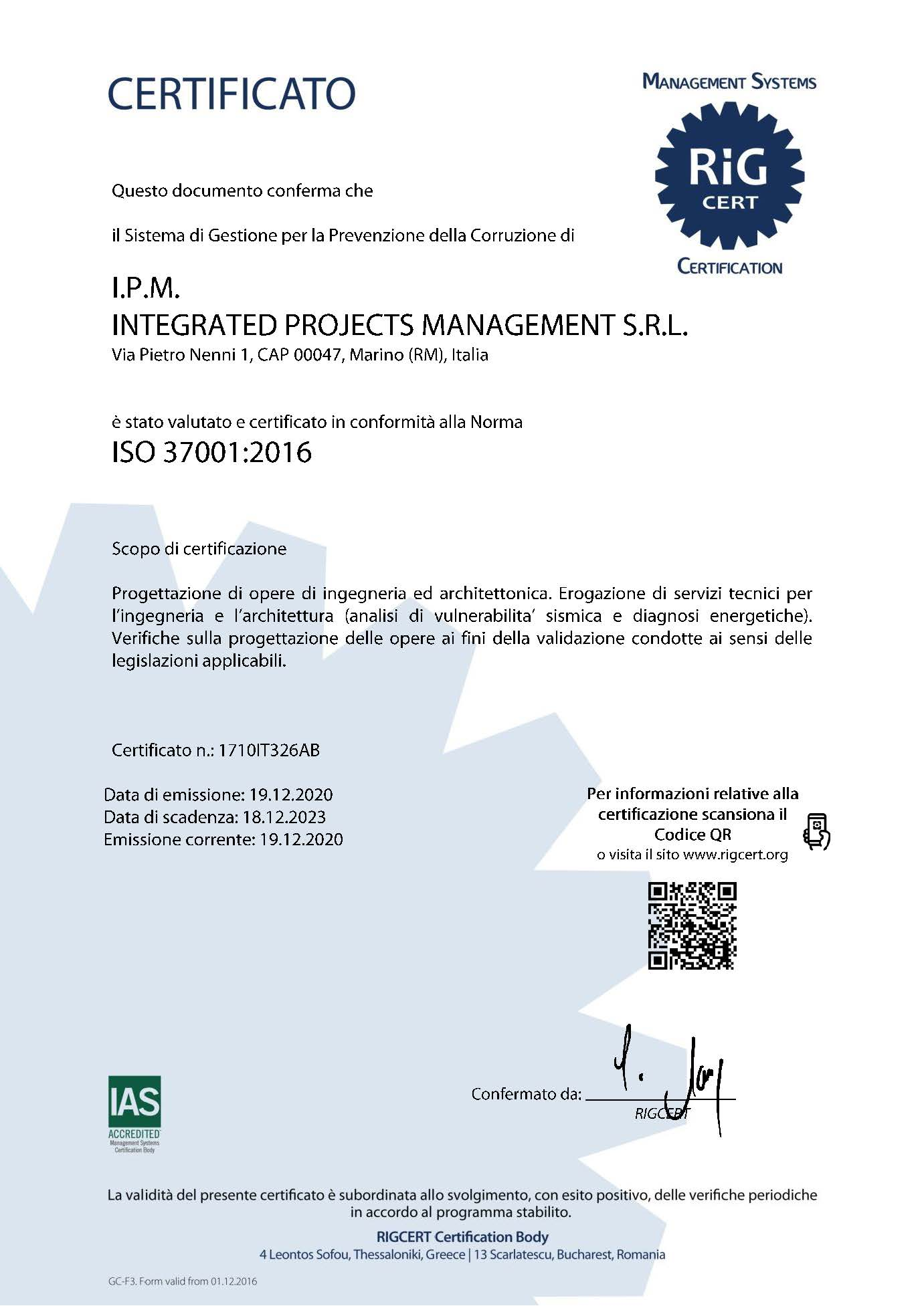 Certificato_IPM_37001_It